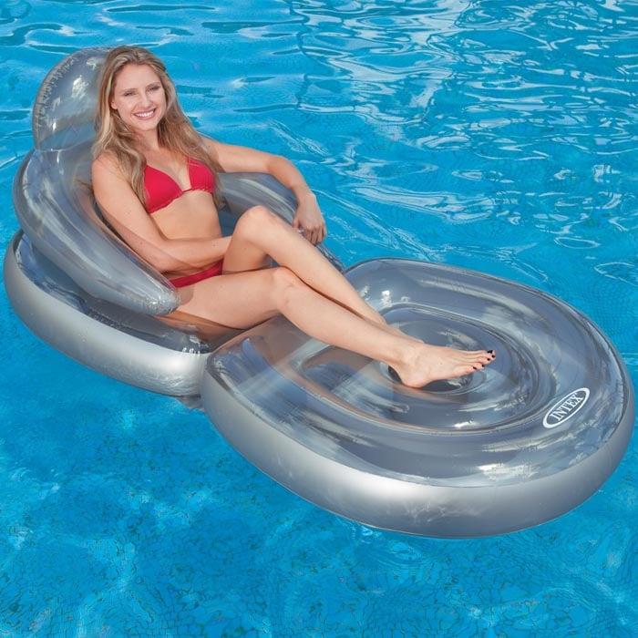 fauteuil pour piscine gonflable