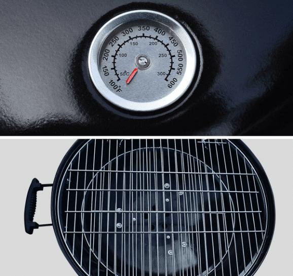 barbecue charbon alice's garden 57 centimètres