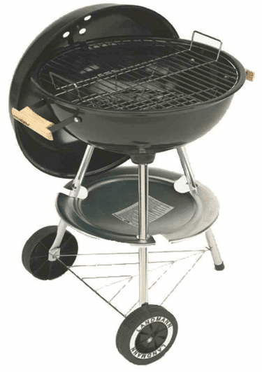 barbecue boule charbon grill chef 11316