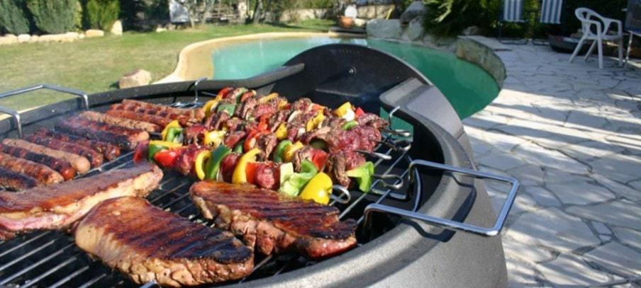 cuisine au barbecue electrique