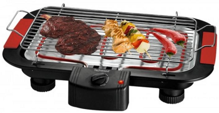 test barbecue electrique pas cher Techwood TBQ-825P