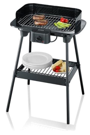 Barbecue sur pieds severin 8523