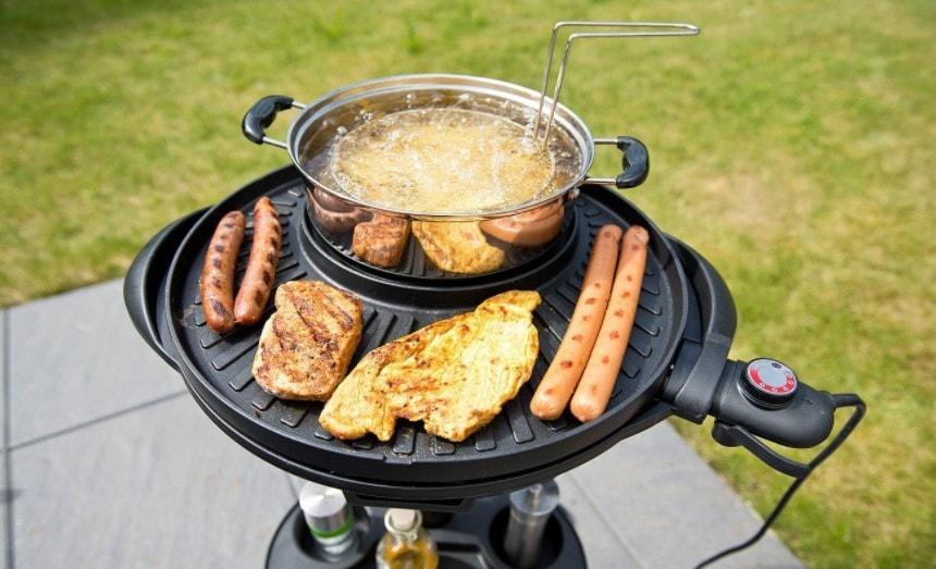 acheter barbecue electrique 5 en 1 Rosenstein & Sohne