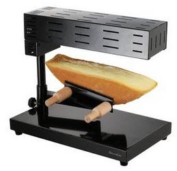 Comparatif appareil à raclette